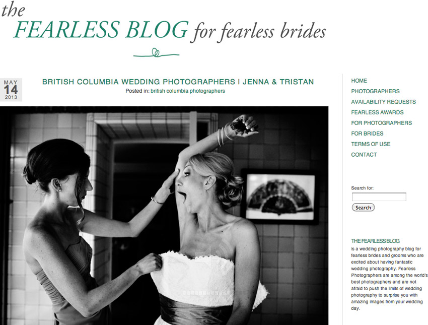 Fearless Blog Feature