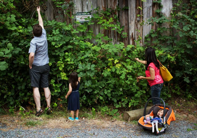 The Grist Family on Galiano Island