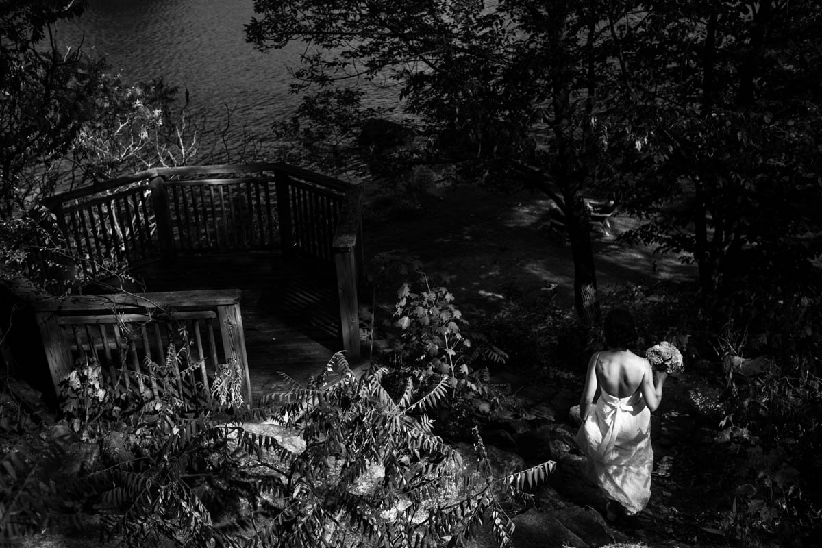 Lakefront Weddng In August At Viamede Resort In Woodview Ontario