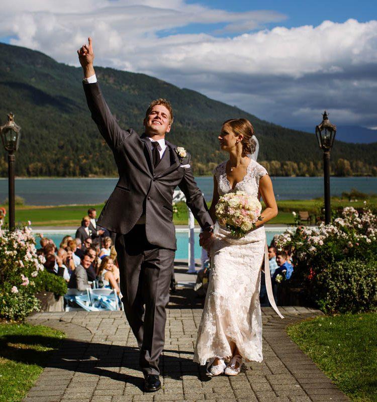 Joy Filled Summer Wedding At Rowenas Inn On The River In Harrison Mills Bc