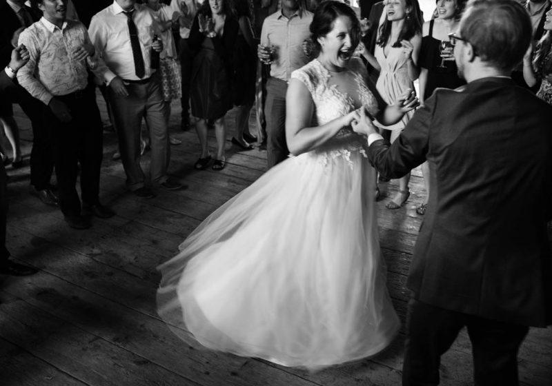 Jubilant Barn Wedding At The North Farm In Geneva New York